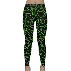 Alien Invasion  Yoga Leggings