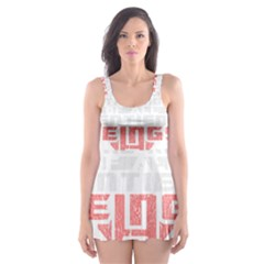 Freedom Is The Right Grunge Skater Dress Swimsuit