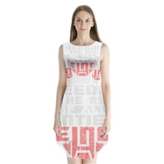 Freedom is the Right GRUNGE Sleeveless Chiffon Dress
