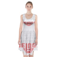 Freedom is the Right GRUNGE Racerback Midi Dress