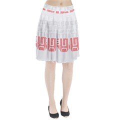 Freedom is the Right GRUNGE Pleated Skirt