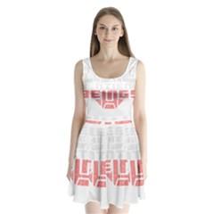 Freedom Is The Right Grunge Split Back Mini Dress