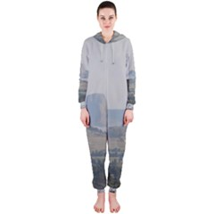 Devils Tower Stamp and Phto Hooded Jumpsuit (Ladies)