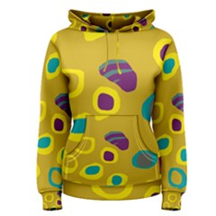 Yellow abstraction Women s Pullover Hoodie