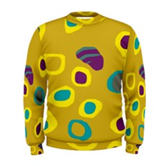 Yellow abstraction Men s Sweatshirt