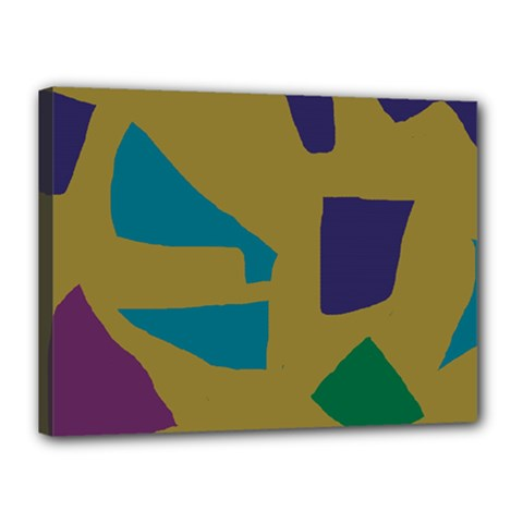 Colorful abstraction Canvas 16  x 12