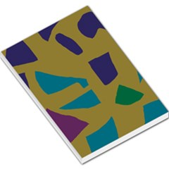 Colorful abstraction Large Memo Pads