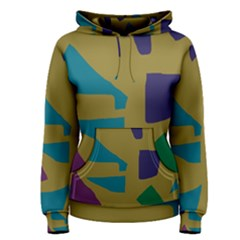 Colorful abstraction Women s Pullover Hoodie