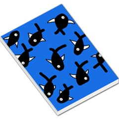 Cute Fishes Large Memo Pads