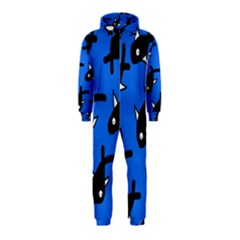 Cute fishes Hooded Jumpsuit (Kids)
