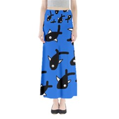 Cute fishes Maxi Skirts