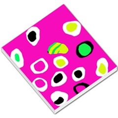 Pink abstract pattern Small Memo Pads