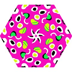 Pink abstract pattern Mini Folding Umbrellas