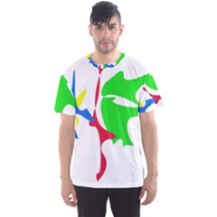 Colorful amoeba abstraction Men s Sport Mesh Tee