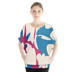 Decorative amoeba abstraction Blouse