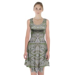 Broccoli Tree Racerback Midi Dress
