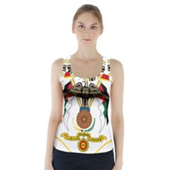 Coat of Arms of Jordan Racer Back Sports Top