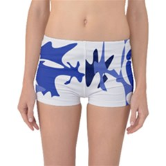Blue amoeba abstract Boyleg Bikini Bottoms