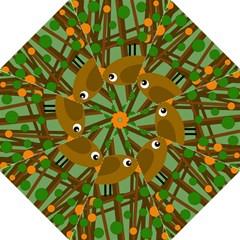 Brown bird Straight Umbrellas