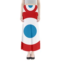 Roundel of the French Air Force  Maxi Skirts