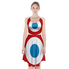 Roundel Of The French Air Force  Racerback Midi Dress