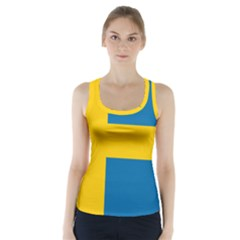 Flag Of Sweden Racer Back Sports Top