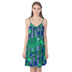 Green and blue bird Camis Nightgown