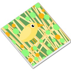 Yellow little bird Small Memo Pads