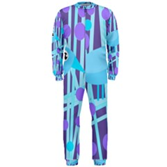 Blue and purple bird OnePiece Jumpsuit (Men)
