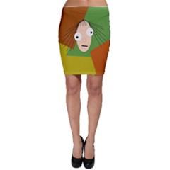 Crazy girl Bodycon Skirt