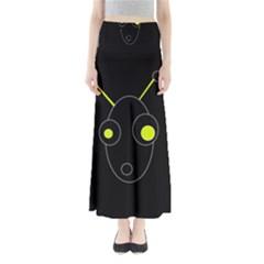 Yellow alien Maxi Skirts