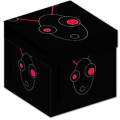 Red alien Storage Stool 12