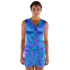 Purpleslush Wrap Front Bodycon Dress