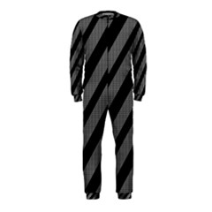 Black and gray lines OnePiece Jumpsuit (Kids)