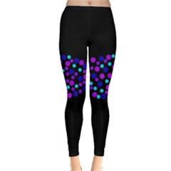 Purple fish Leggings
