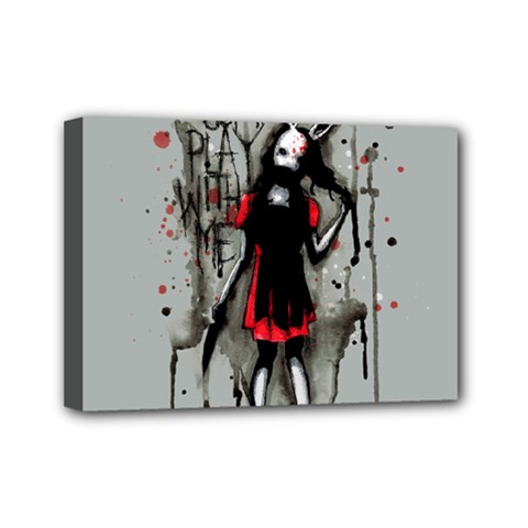 Come Play With Me   Mini Canvas 7  x 5