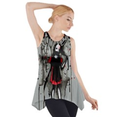 Come Play With Me   Side Drop Tank Tunic
