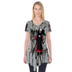 Come Play With Me   Short Sleeve Tunic