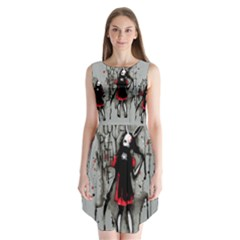 Come Play With Me   Sleeveless Chiffon Dress