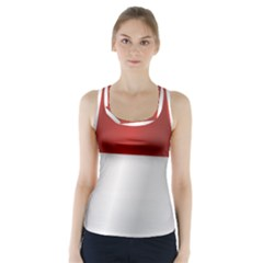 Flag Of Indonesia Racer Back Sports Top