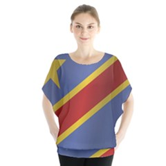 Flag Of Democratic Republic Of The Congo Blouse