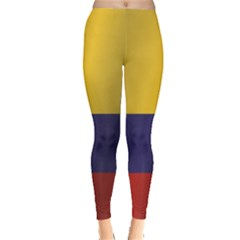 Flag Of Colombia Leggings