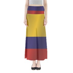 Flag Of Colombia Maxi Skirts