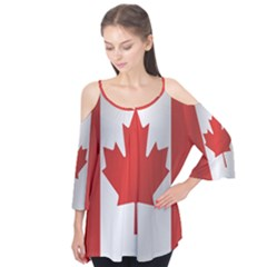 Flag Of Canada Flutter Tees