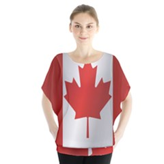 Flag Of Canada Blouse