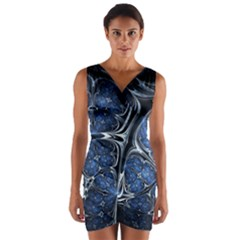Mcesherinspiredceiling Wrap Front Bodycon Dress