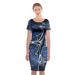 Mcesherinspiredceiling Classic Short Sleeve Midi Dress
