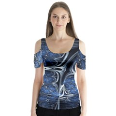 Mcesherinspiredceiling Butterfly Sleeve Cutout Tee