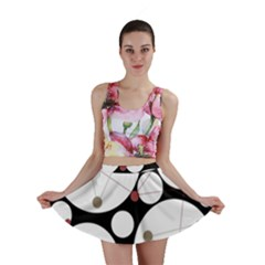 Decorative circles Mini Skirt