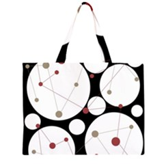Decorative circles Large Tote Bag